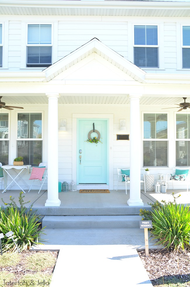 four tips to paint your front door