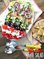 Zesty Grilled Chicken Greek Cobb Salad