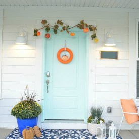 Five Ways to Create a Pretty Fall Porch!