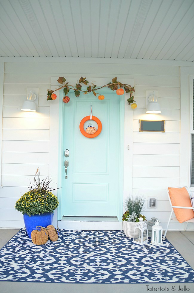 5 ways to create a pretty fall porch
