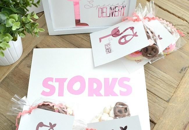 Storks Special Delivery Printables