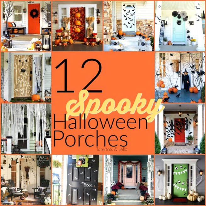 12 spooky halloween porches. Ideas to make your home spooky