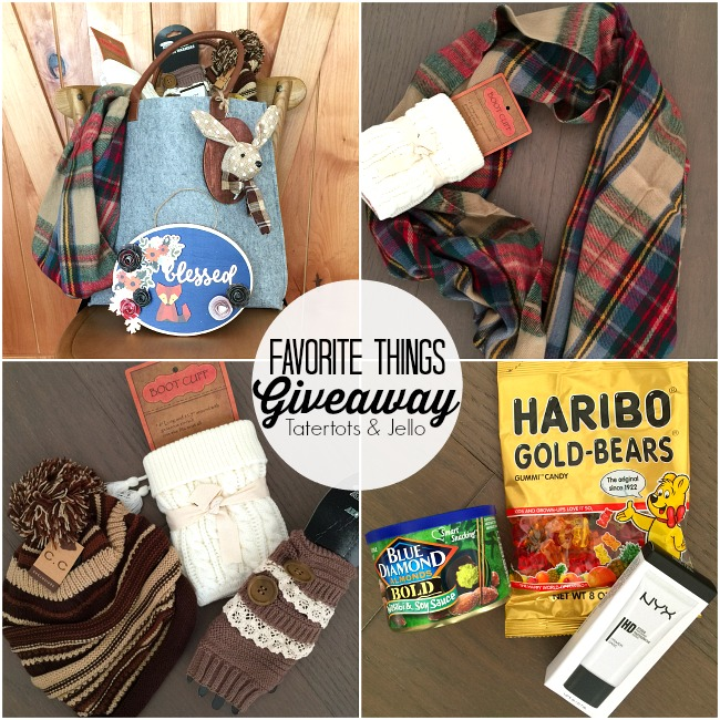 My favorite things giveaway!! Join me and 30 other bloggers who are giving away are favorite things!