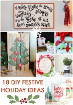 Great Ideas — 18 DIY Festive Holiday Ideas!