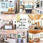 9 Ways to Add Charm to a Kitchen