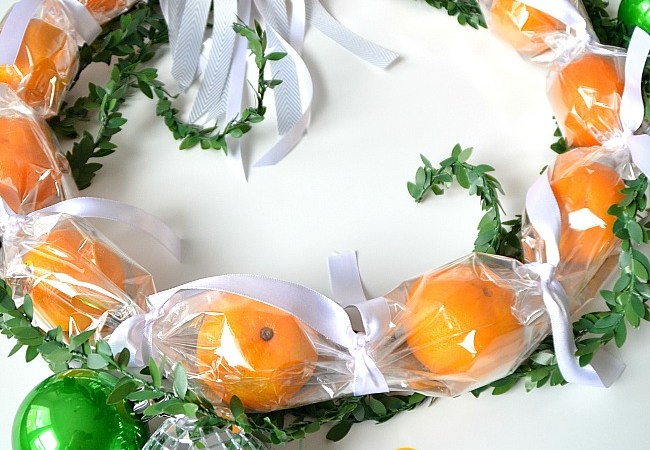 Holiday Hostess Gift Idea – Make a Cuties® Wreath!