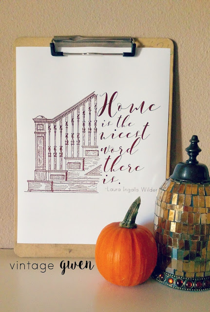 Home is the best place there is printable