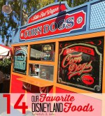 14 Foods you HAVE to Try at Disneyland!