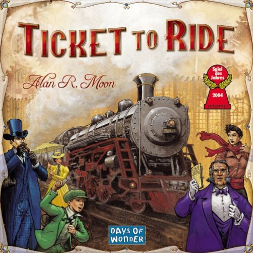 ticket to ride game is one of our favorite things