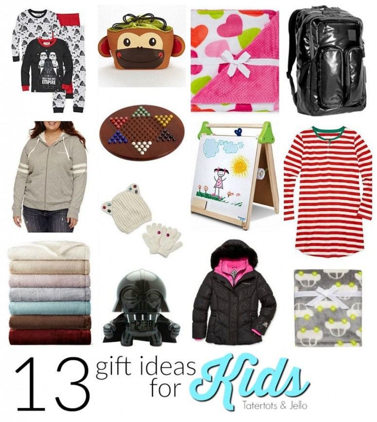 13 gift ideas for kids. 13 awesome gift ideas that kids will love. Holiday gift giving.