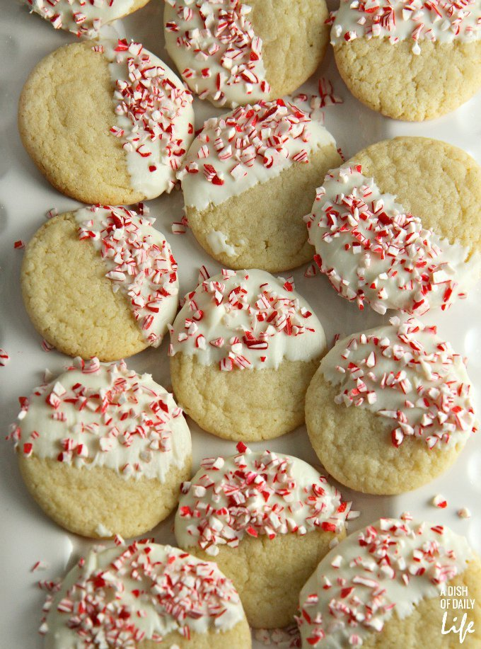 Easiest Peppermint Cookies from a Mix