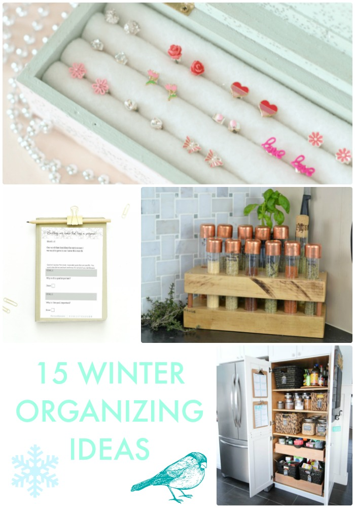 Great Ideas --  15 Winter Organizing Ideas!