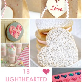 Great Ideas — 18 LightHEARTed Valentine's Projects!