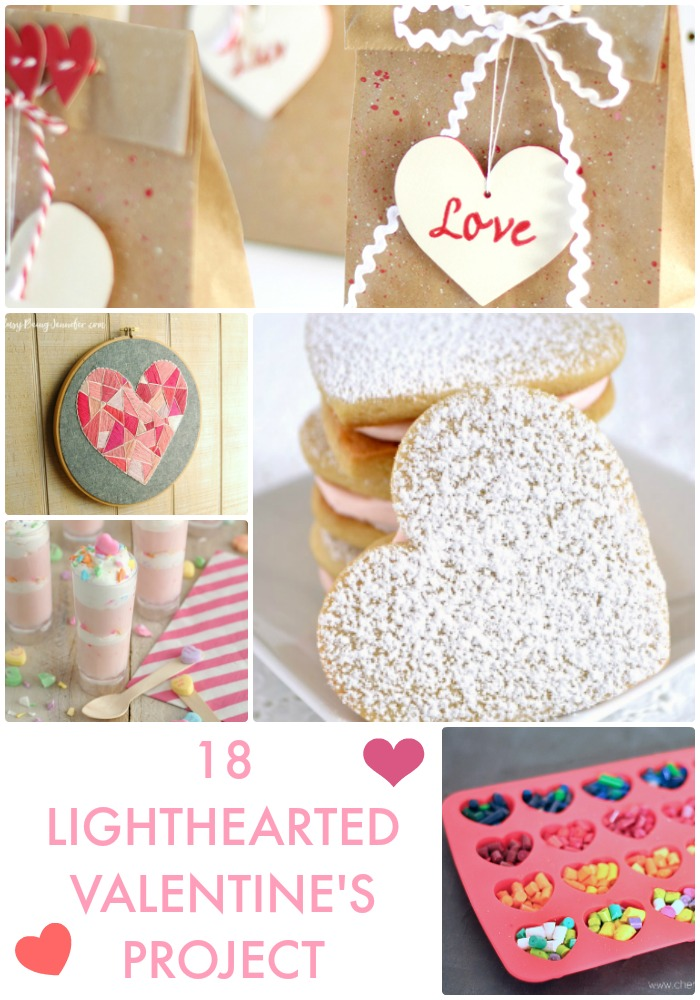 Great Ideas 18 Lighthearted Valentine S Projects