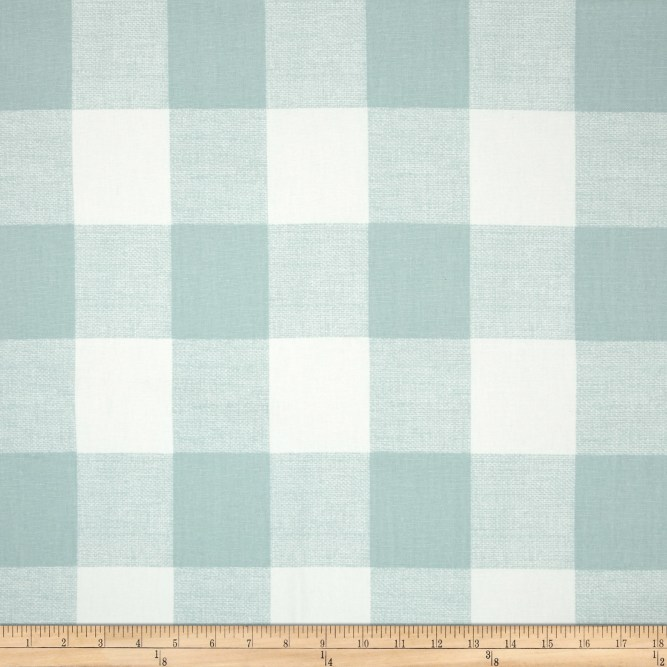 fabric.com snowy check fabric
