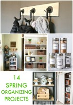 Great Ideas — 14 Spring Organizing Projects!