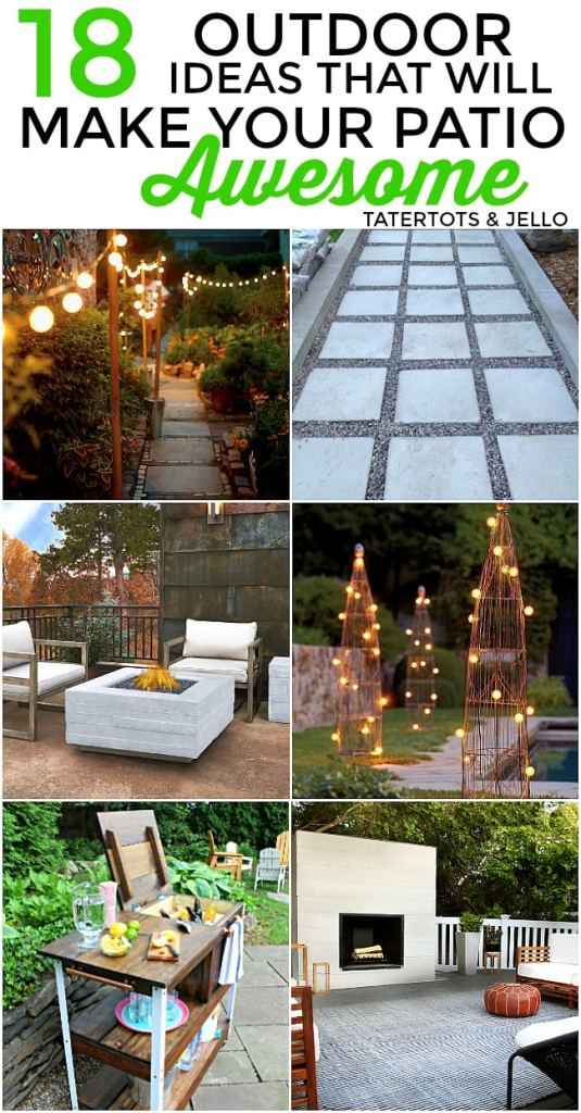 18 patio ideas