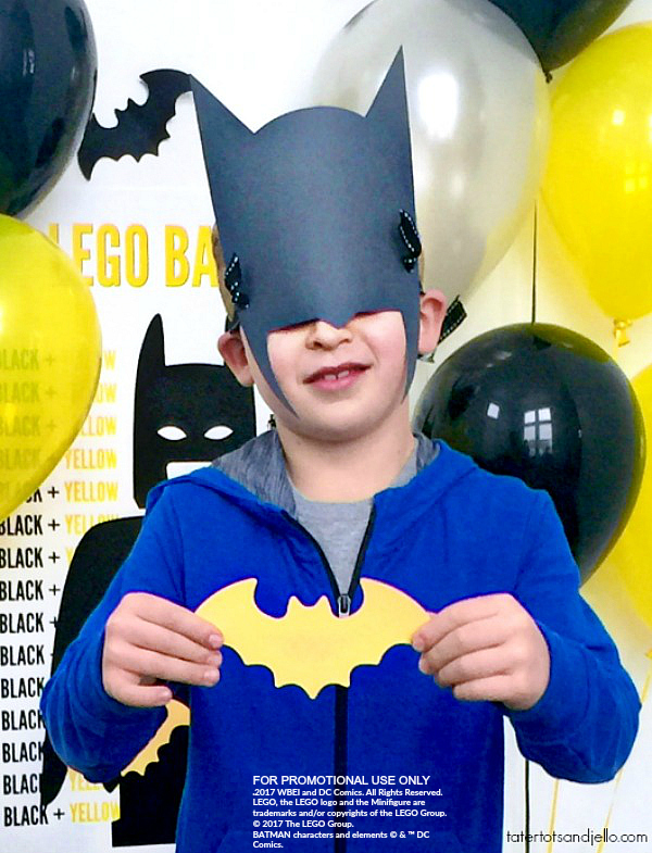 Lego Batman party ideas and free printable pin the bat on batman party game.