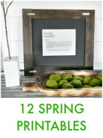 Great Ideas — 12 Spring Printables!