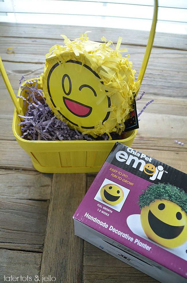 Easter gift ideas for men and boys tween emoji easter basket lots of easy ideas that arent all candy to negle