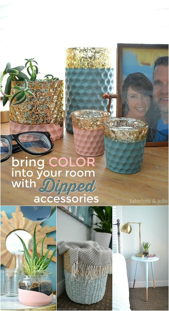 How to Dip Accessories with Paint