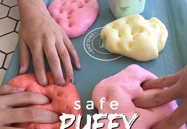 3-Ingredient SAFE Puffy Slime Recipe