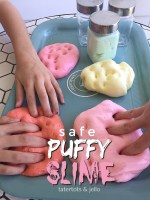 3-Ingredient SAFE Puffy Slime Recipe