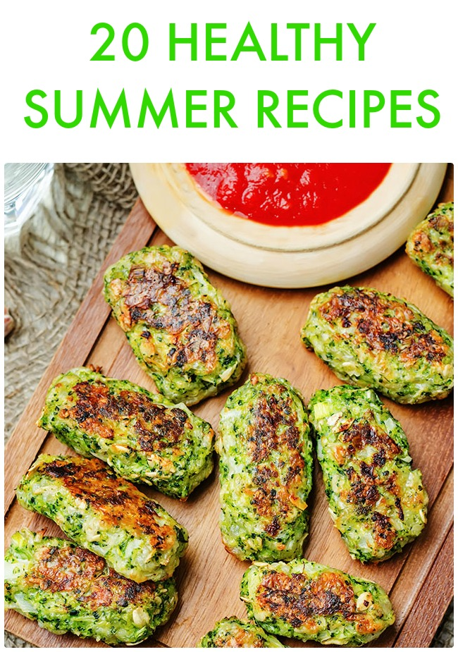 Great Ideas -- 20 Healthy Summer Recipes!