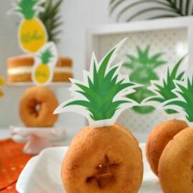 Pineapple Printable Cupcake Toppers