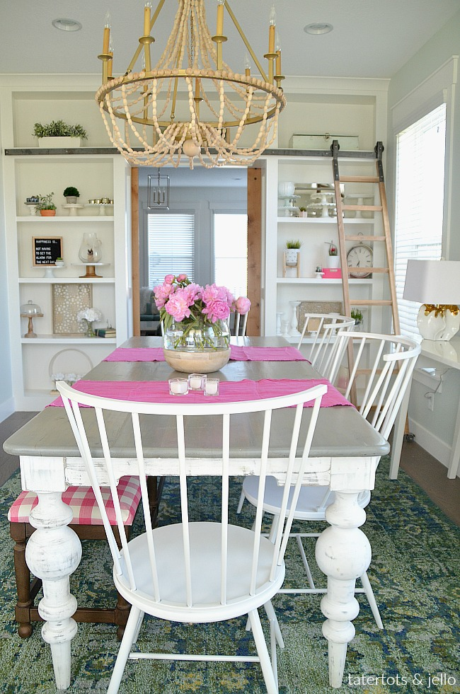 Colorful Happy Home Dining Room REVEAL