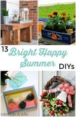 Great Ideas — 13 Bright Happy Summer DIYs!