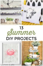 Great Ideas — 13 Summer DIY Projects!