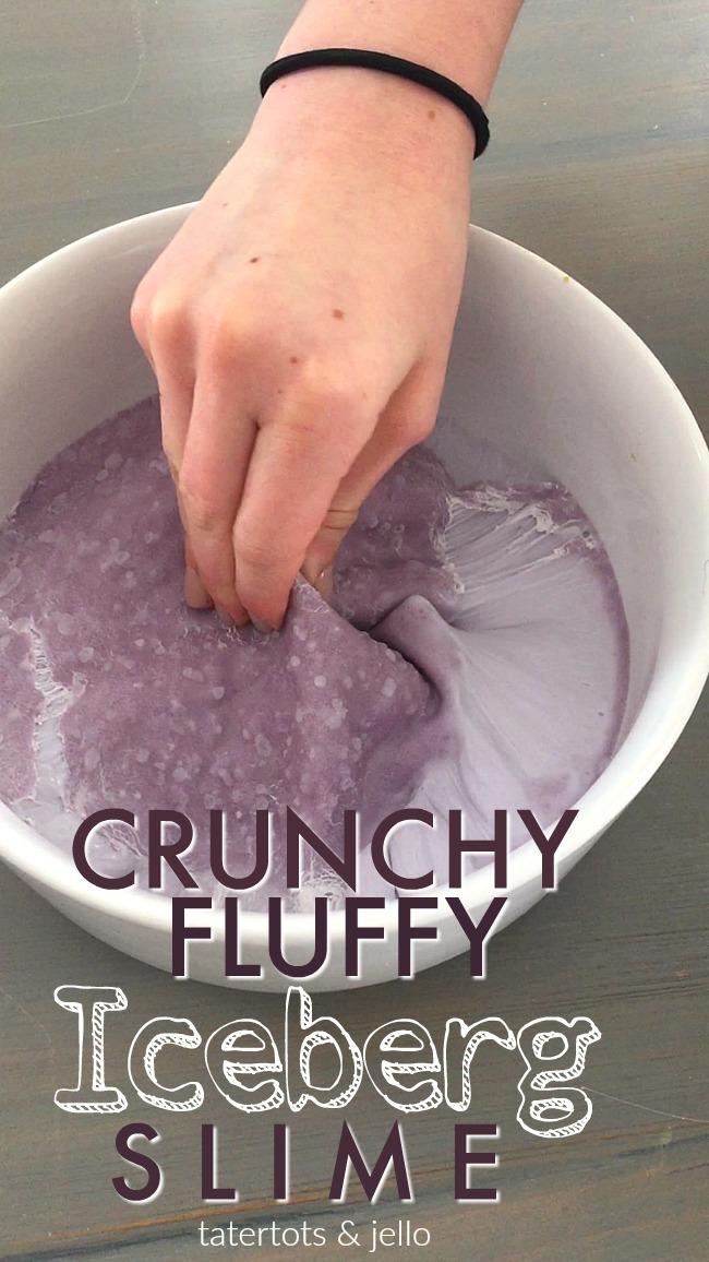 Iceberg Crunchy Fluffy Slime