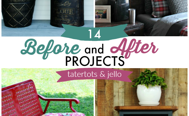Great Ideas — 14 Before and After Projects!