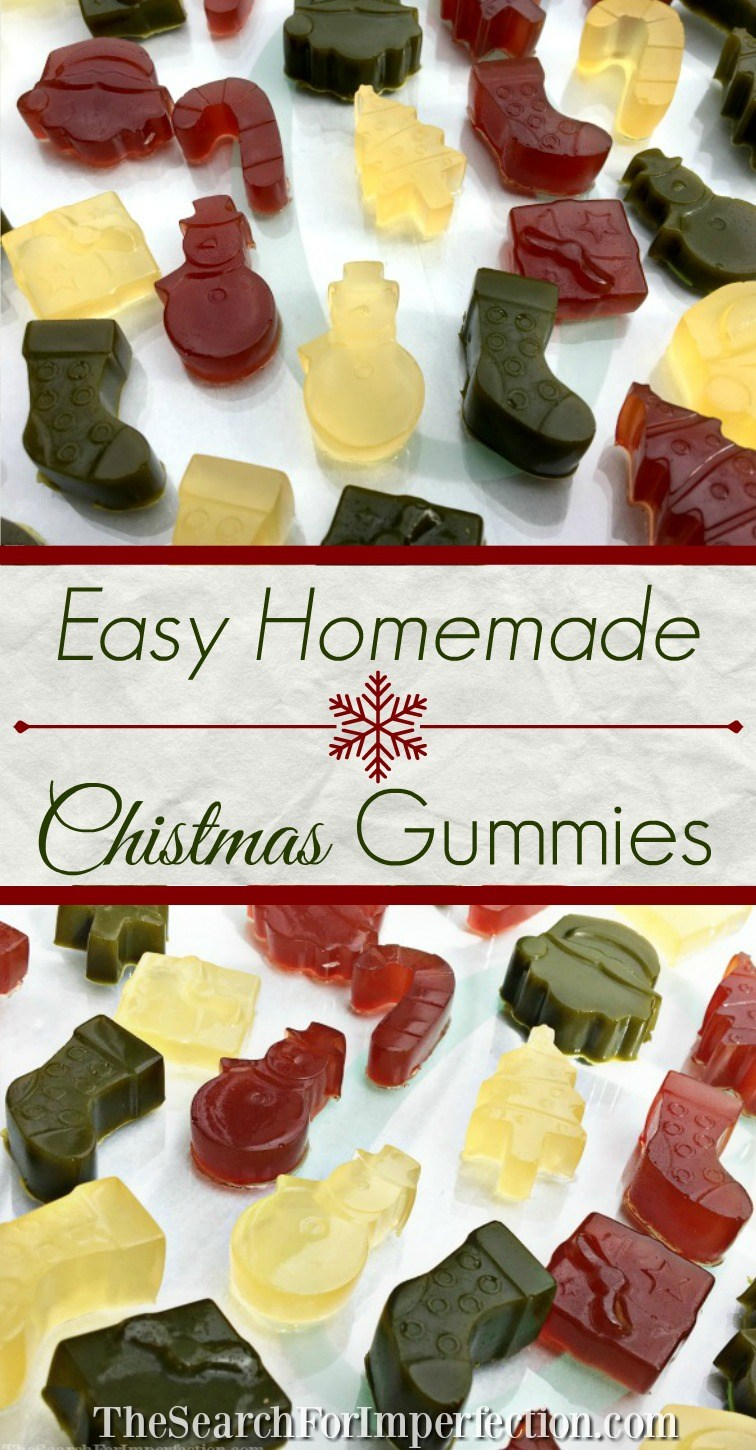 Christmas Gummy Recipe