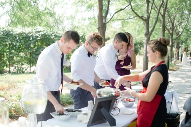 Try something different for your wedding - a custom waffle station from Waffle Love.