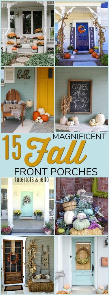 15 Magnificent Fall Porch Ideas