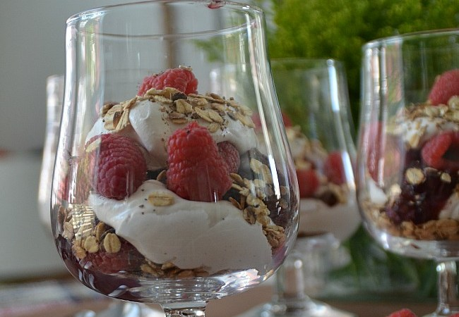Scottish OUTLANDER Cranachan Trifle Dessert