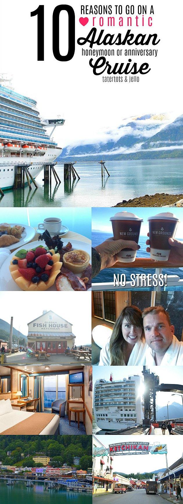 10 reasons to go on an alaskan honeymoon cruise!