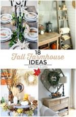 Great Ideas — 18 Festive Fall Farmhouse Ideas!