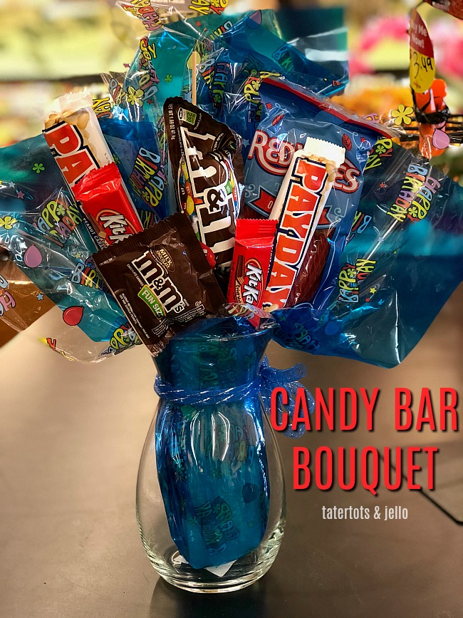 make a candy bar bouquet gift tutorial the gift for