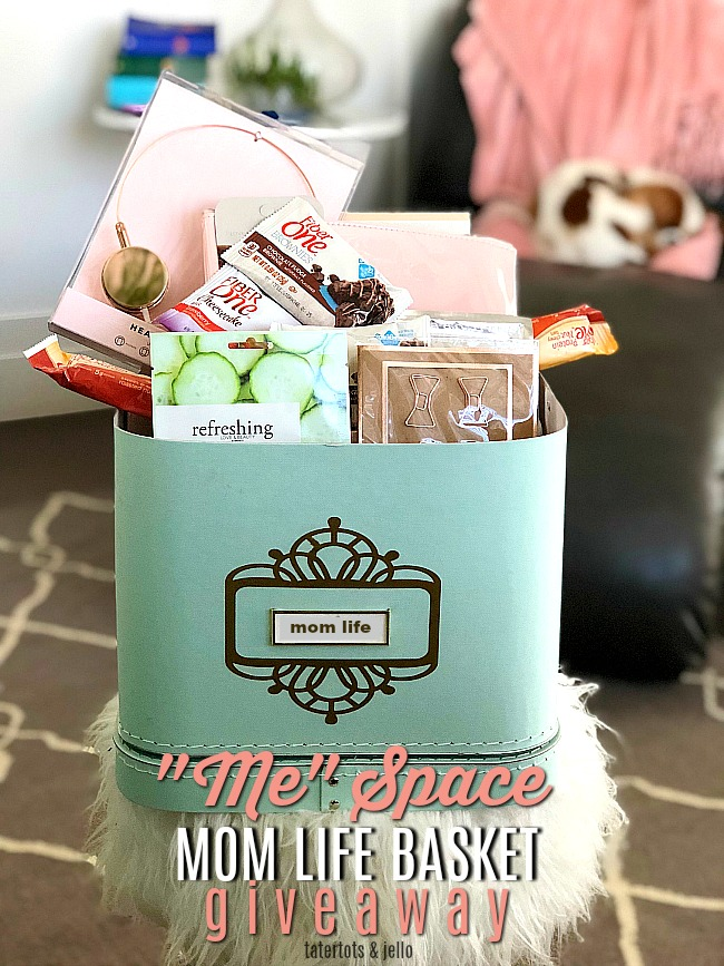 """Mom Time"" Basket DIY + Giveaway"