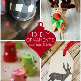 Great Ideas — 10 DIY Ornaments!