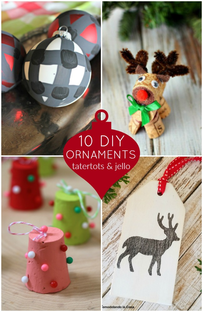 10 DIY Ornaments
