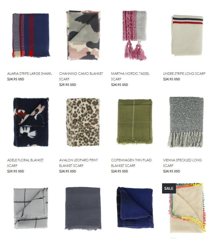 cents of style scarves gift idea