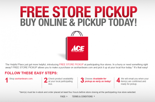 ace red bag offer