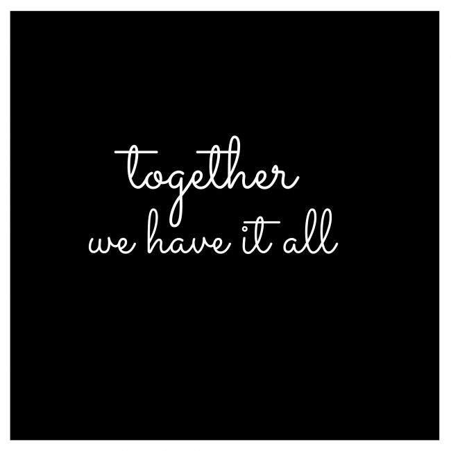 together we have it all printable for pillows