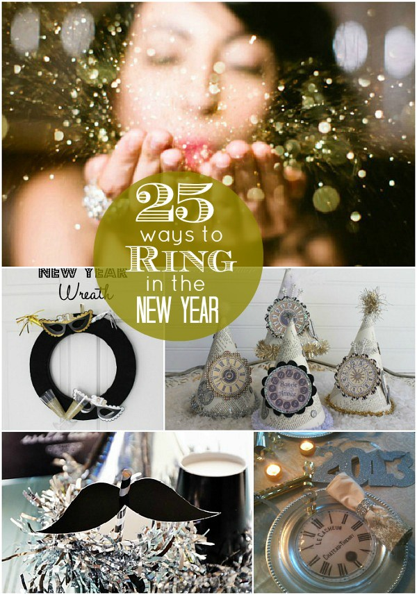 170+ Ways to Ring in the New Year - recipes, crafts, activities, party ideas