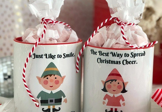 ELF Custom Mugs – personalized holiday gift idea!