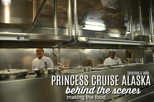 Princess Ruby Alaska Behind the Scenes in the Kitchens!